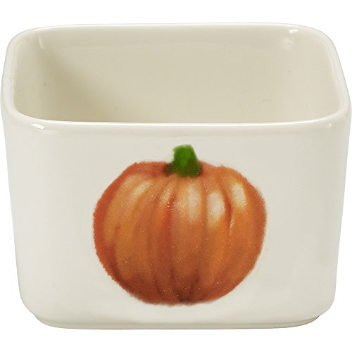 Precious Moments Celebrations Square Fall Appetizer Bowl