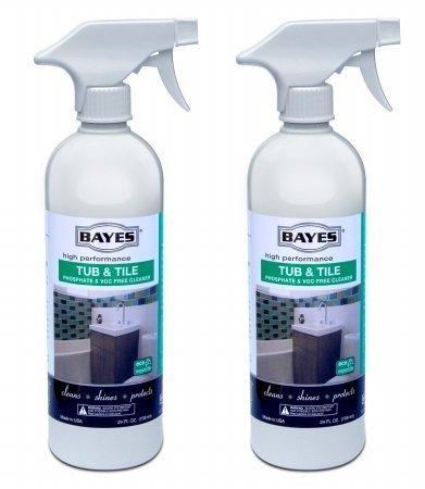 Bayes Tub & Tile Cleaner - 16 oz (2 Pack)