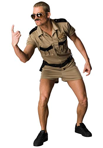 Reno 911 Dangle Costume, Brown,