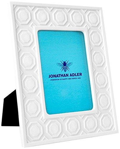 Wall Adler - Jonathan Adler Charade Moulding Picture Frame, White