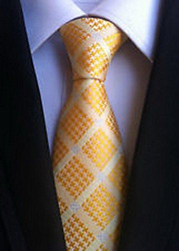 Jacob AleX #47195 zombie Sylvanian Costume Checks Gold White JACQUARD WOVEN -