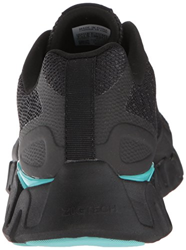 outlet marketable clearance from china Reebok Women's Zig Pulse-SE Sneaker Black/Ash Grey/Turquoise JwgZazZ