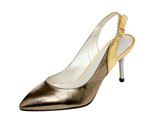 Bronze Dini Patrizia Gold Slingback Multicolor Damen vBxwUxI