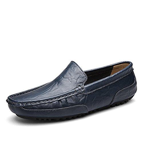 Guisantes de verano zapatos de pedal/Pies zapatos cómodos y respirables/Zapato ocasional de la conducción/Zapatos de marea de Inglaterra A