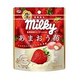 Fujiya RAW Milky AMAOU strawberry candy 34g Limited time only Japan