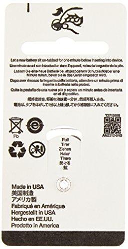 AmazonBasics Hearing Aid Batteries A312, 60 Pack by AmazonBasics (Image #3)