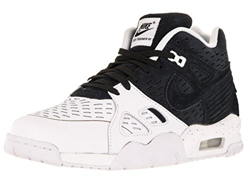 Nike Mens Air Trainer 3 Le Training Shoe Black / White-black