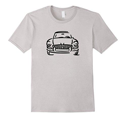 Mens MGB GT MG British Car Lover T-shirt 2XL Silver
