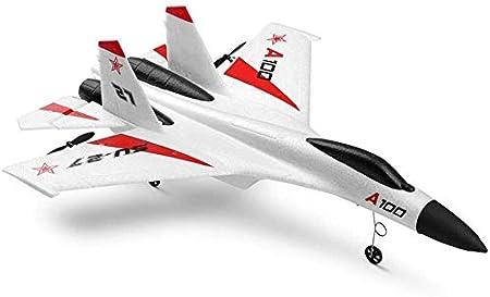 3CH Gyro incorporado Anti-colisión RC Control remoto Helicóptero Modelo Ala fija DIY Avión eléctrico Inercia Aviones Drones Juguete Planeador Avión Espuma 2.4G Juguetes Fácil de volar para Profesión