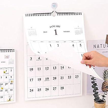 Amazon.com : Best Quality - Calendar - Creative Simple Wall ...