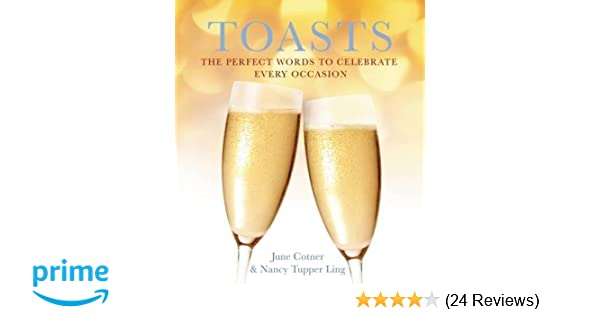 Amazon.com: Toasts: The Perfect Words to Celebrate Every Occasion ...