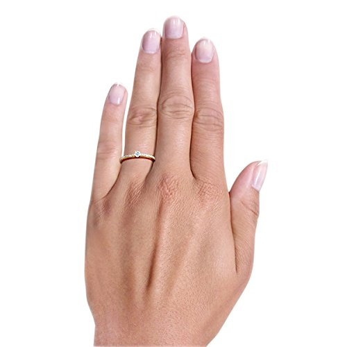 goldmaid Femme  14carats (585/1000)  Or jaune|#Gold Balle   Blanc Diamant FINERING