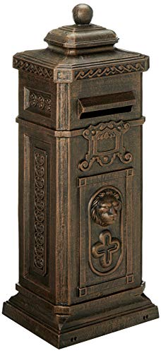 Oakland Living Kensington Decorative Mail Box, Antique Bronze