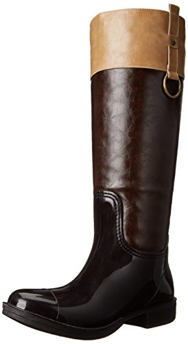 Taupe Moto Nomad Women's Rain Boot Brown wXwUB1x