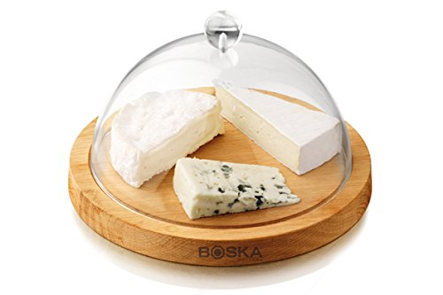 - Boska Holland 859002 Cheese Board with Dome, Brown