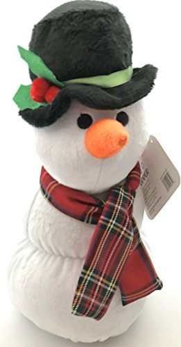 Out Snowman (Winter Snowman Door Stopper: Decked Out Adorable Weighted Carrot-Nosed Figure with Hat and Scarf Gift Home Decoration)