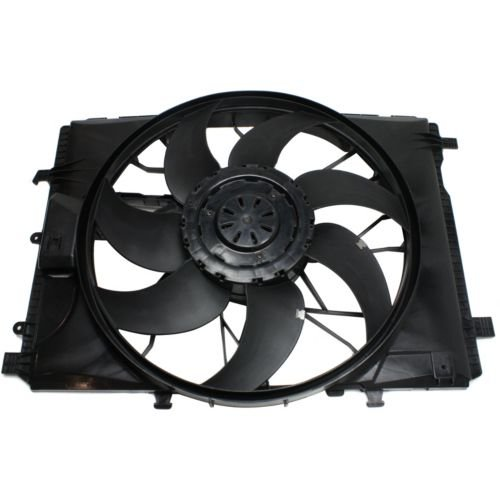 MAPM Premium Quality C-CLASS 08-15 / E-CLASS 10-16 RADIATOR FAN SHROUD ASSEMBLY by Make Auto Parts Manufacturing