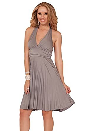Chic Halter Marilyn Monroe Inpired Bridesmaid Evening Party Prom Cocktail Dress