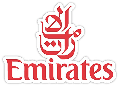 Fly Emirates Airline sticker decal 5