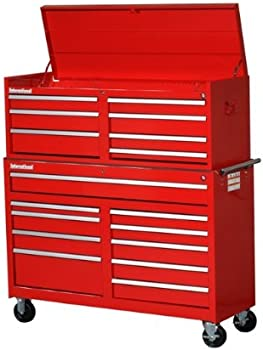 International WRC-5417RD 17 Drawer Tool Chest and Cabinet