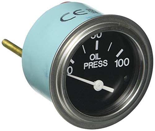Sierra International 80181P Heavy Duty Electric 100 PSI Oil Pressure Gauge for Inboard & Diesel
