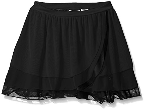 Capezio Girls' Big Girls' Kyla Pull on Skirt, Black, Medium Capezio Dance Skirt