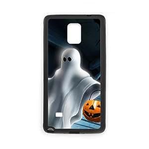 Samsung Galaxy Note 4 Cell Phone Case Black Halloween ghost K3E3VK