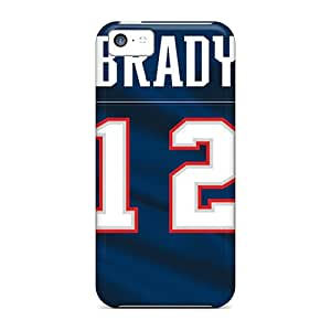 Premium New England Patriots Heavy-duty Protection Cases For Iphone 5c