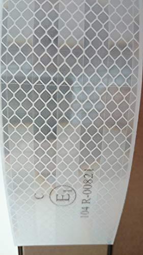 3M Diamond Grade Konturmarkierung weiß ( Retro - Reflektierende Folie 5, 5cm breit) pr-Folia