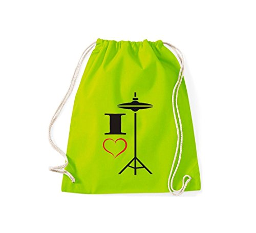 Bolso Lima Algodón Verde De Amarillo Shirtstown Tela Mujer Para BIfwvvgq
