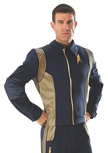 Rubie's 821204-STD Star Trek Discovery Command Costume Uniform, Gold, Standard