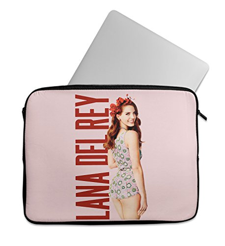 Lana Del Ray With Flower Skirt Laptop Sleeve Laptop Case Neoprene 11 inch 13 inch 15 inch Macbook Mac Dell Samsung - Ray Katy