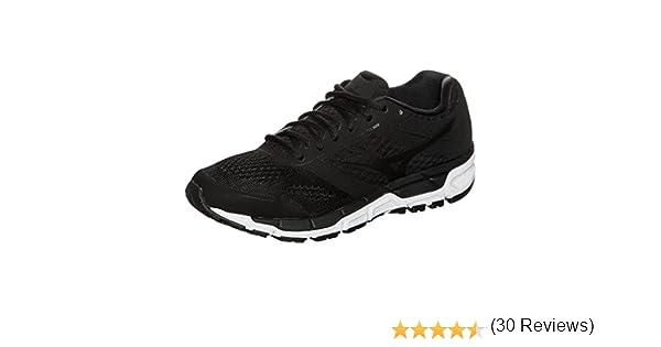 Mizuno Synchro MX - Zapatillas de running para mujer, color negro y blanco: Amazon.es: Deportes y aire libre