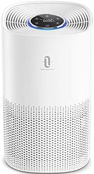 TaoTronics Air Purifier for Home H13 True HEPA Filter, CADR 250 m³/h, Pollen Smoke Allergen Pet Dander Hair El