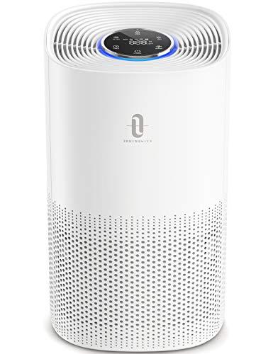 TaoTronics Air Purifier for Home H13 True HEPA Filter, CADR 250 m³/h, Pollen Smoke Allergen Pet Dander Hair Eliminator…