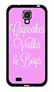 Cupcakes Vodka and Boys 2-Piece Dual Layer Phone Case Back Cover Samsung Galaxy S4 I9500