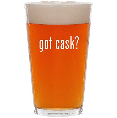 got cask? - 16oz Pint Beer Glass
