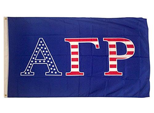 Alpha Gamma Rho Fraternity USA Letter Flag Banner Greek Letter Sign Decor agr