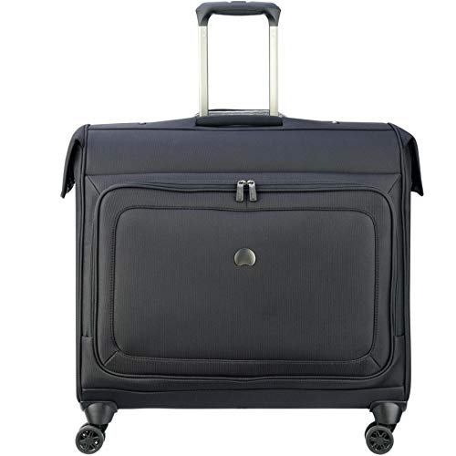 Delsey Luggage Cruise Lite Softside Spinner Trolley Garment Bag, BLACK