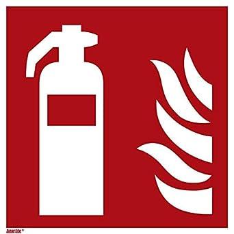 Amazon.com: Adhesivo para extintor, fotoluminiscente de 6.0 ...