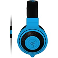 Razer Kraken Mobile Analog Music & Gaming Headset-Neon Blue