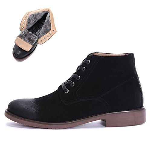 Minitoo , Bottes Chukka homme - noir - Fur-Lined/Black,