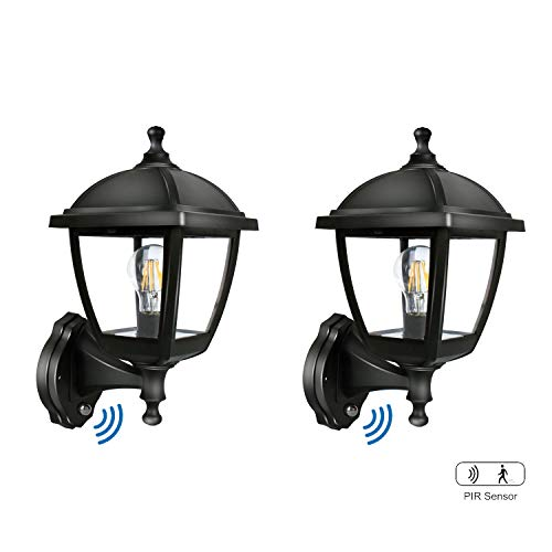 Outdoor Porch Light With Pir in US - 9