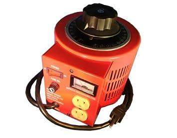 10 amp variac variable transformer with isolation, 1000va max, 0~130 volt  output: amazon ca: electronics