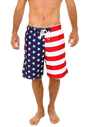 Uzzi-Mens-Patriotic-USA-American-Flag-Swim-Trunks