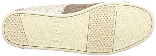 Coated Hombre Classics Linen 1001A07 Toms Alpargatas Stripe Toffee qOXWA