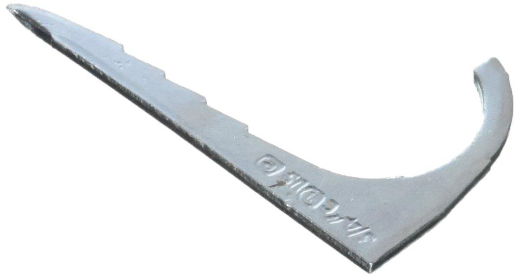 Halex 61407B Drive Straps (Flat Style) Electrical Metallic Tubing (EMT) Fittings Steel (100 Piece), 3/4''