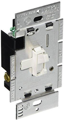 Lutron AY-603PG-WH Ariadni 600-watt 3-Way Dimmer, White by Lutron White Ariadni Dimmer