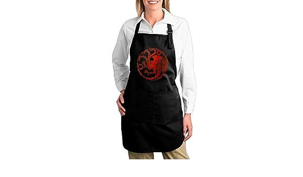Fácil cuidado juego de tronos fuego y sangre Logo cocina Chef ...