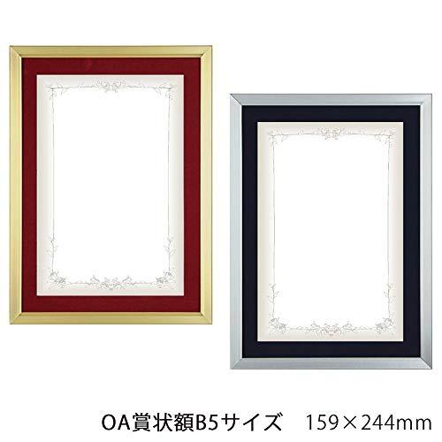 A.P.J. Eフレーム(賞状サイズ) OA賞状額B5サイズ(159×244mm) 【全2種の内[シルバー・1000008572]です】